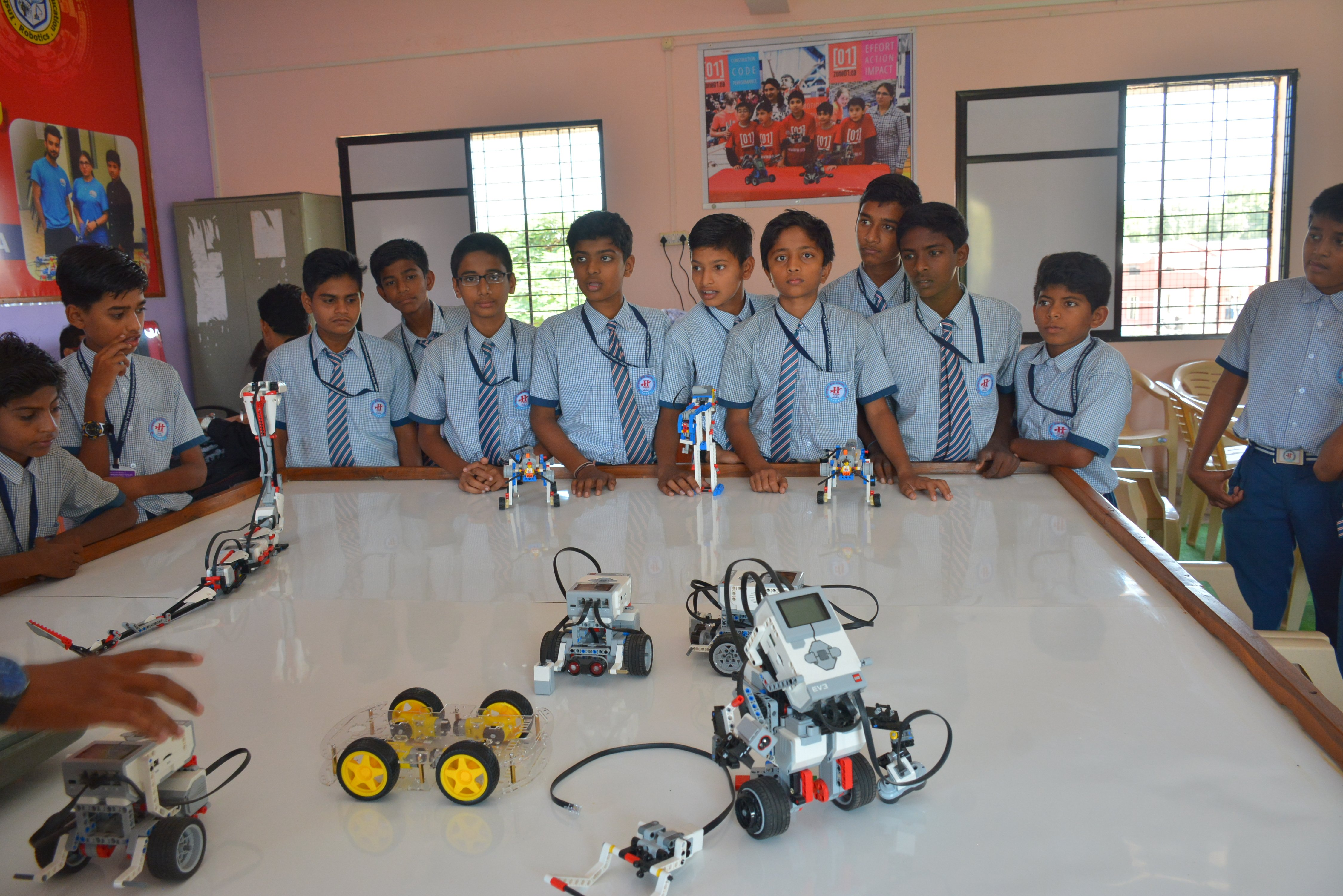 Atal Tinkering Lab Robotics Programming Engineering
